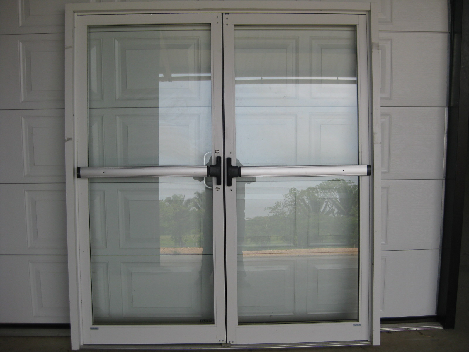 Commercial Double Action Glass Door Peters Glass Shop
